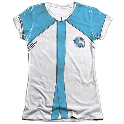 Harbinger Zephyr Uniform White Juniors Sublimation T-Shirt