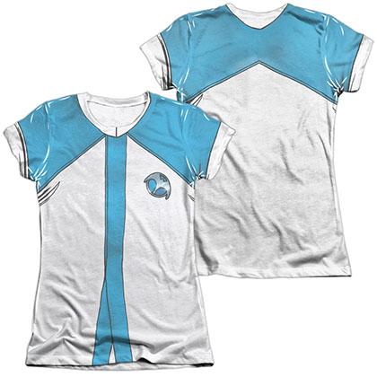 Harbinger Zephyr Uniform  White 2-Sided Juniors Sublimation T-Shirt