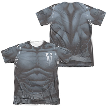 Shadowman Uniform  White 2-Sided Sublimation T-Shirt