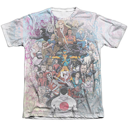 Valiant All Accounted For White Sublimation T-Shirt