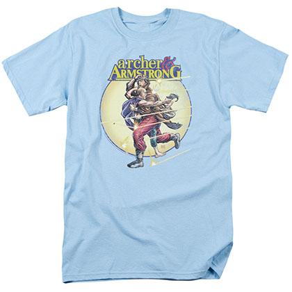 Archer & Armstrong Vintage A & A Blue T-Shirt