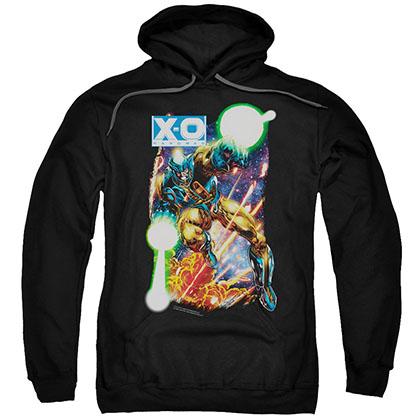 Xo Manowar Vintage Xo Black Pullover Hoodie
