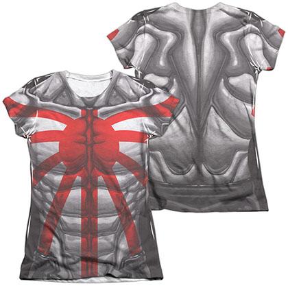 Rai Costume  White 2-Sided Juniors Sublimation T-Shirt