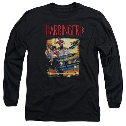 Harbinger Vintage Harbinger Black Long Sleeve T-Shirt