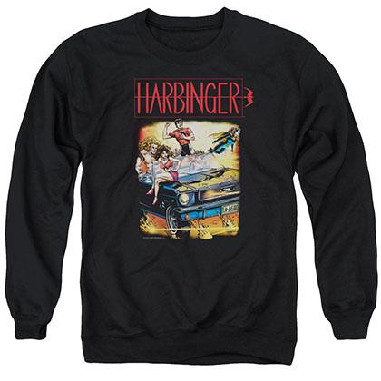 Harbinger Vintage Harbinger Black Crew Neck Sweatshirt