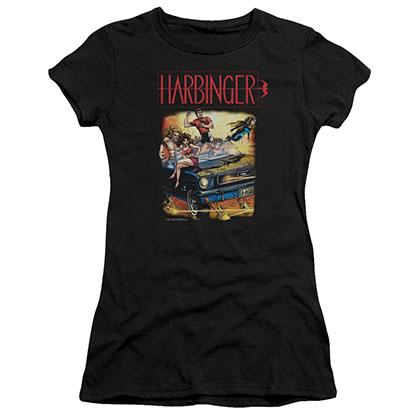 Harbinger Vintage Harbinger Black Juniors T-Shirt