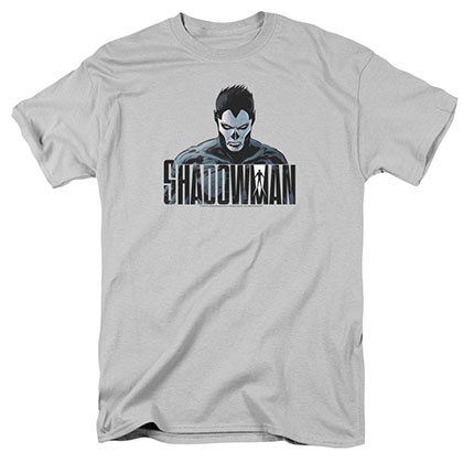 Shadowman Shadow Stare Gray T-Shirt