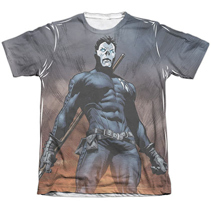 Shadowman Stand Tall White Sublimation T-Shirt
