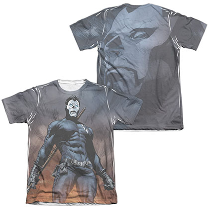 Shadowman Stand Tall  White 2-Sided Sublimation T-Shirt