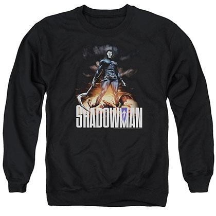Shadowman Shadow Victory Black Crew Neck Sweatshirt