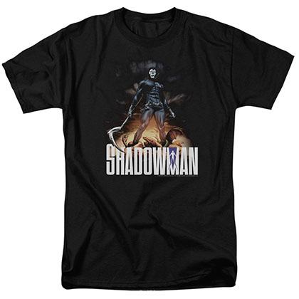 Shadowman Shadow Victory Black T-Shirt