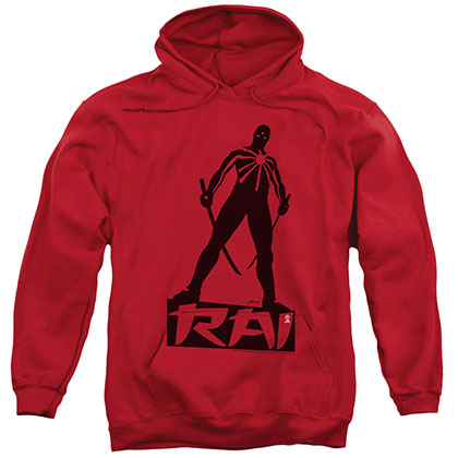 Rai Silhouette Red Pullover Hoodie
