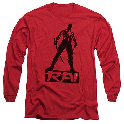 Rai Silhouette Red Long Sleeve T-Shirt