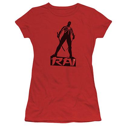 Rai Silhouette Red Juniors T-Shirt