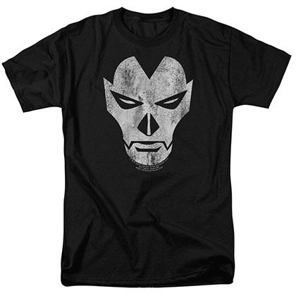 Shadowman Face Black T-Shirt