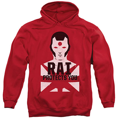 Rai Protector Red Pullover Hoodie