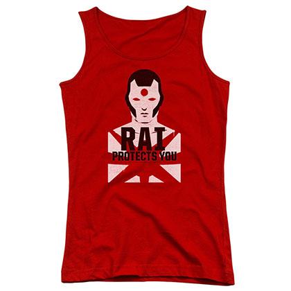 Rai Protector Red Juniors Tank Top