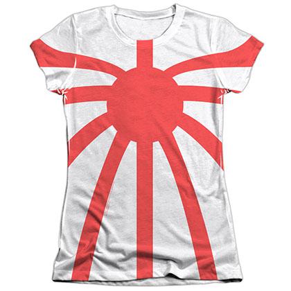Rai Basic Costume White Juniors Sublimation T-Shirt
