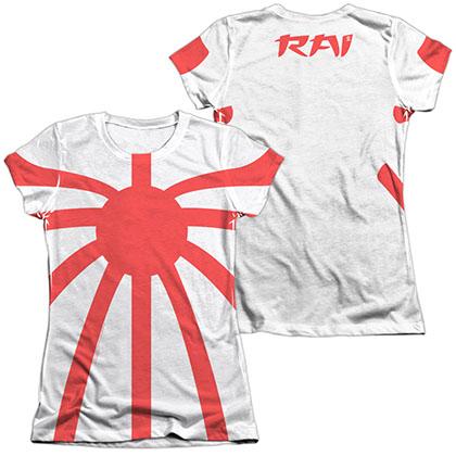 Rai Basic Costume  White 2-Sided Juniors Sublimation T-Shirt