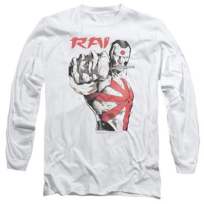 Rai Sword Drawn White Long Sleeve T-Shirt