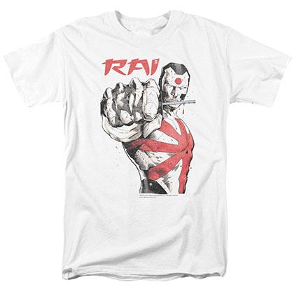 Rai Sword Drawn White T-Shirt