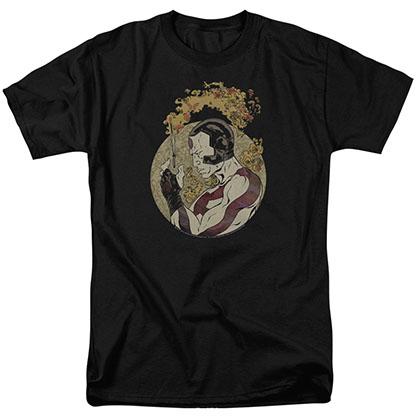 Rai Japanese Print Black T-Shirt