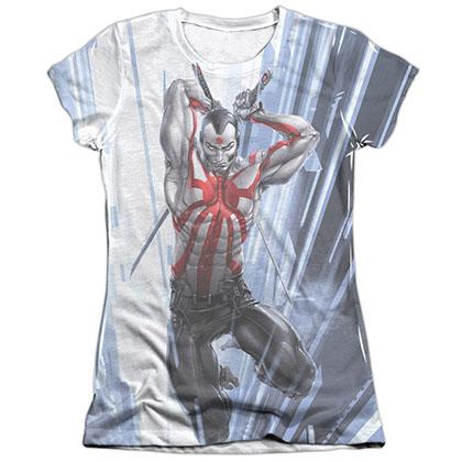 Rai Cyber Jump White Juniors Sublimation T-Shirt