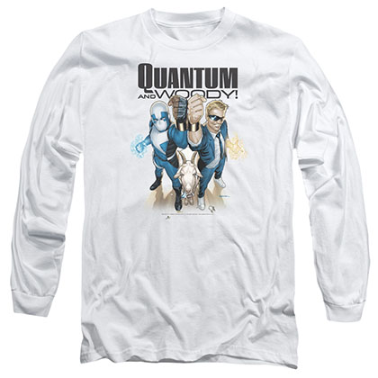 Quantum And Woody Quantum And Woody White Long Sleeve T-Shirt