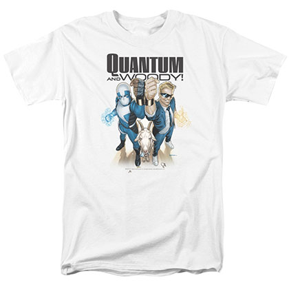 Quantum And Woody Quantum And Woody White T-Shirt