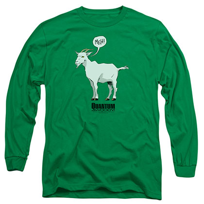 Quantum And Woody Meh Green Long Sleeve T-Shirt