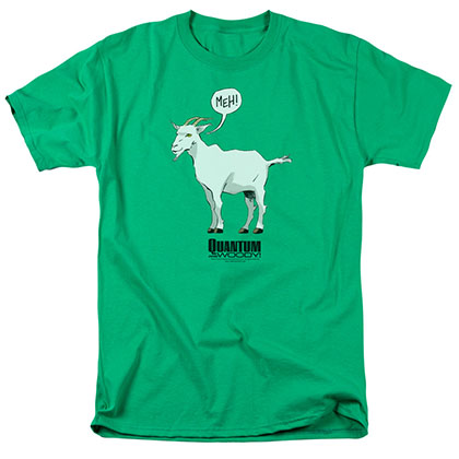 Quantum And Woody Meh Green T-Shirt