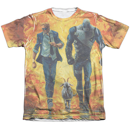 Quantum And Woody Fire It Up White Sublimation T-Shirt