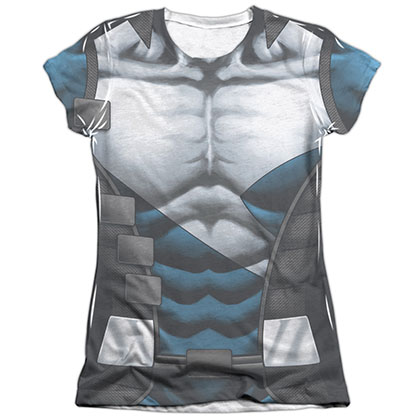 Quantum And Woody Uniform White Juniors Sublimation T-Shirt