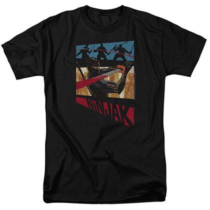 Ninjak Panel Black T-Shirt