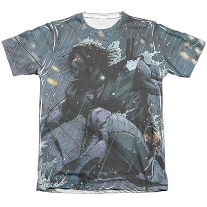 Ninjak Raining Arrows White Sublimation T-Shirt