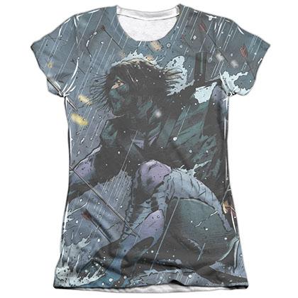 Ninjak Raining Arrows White Juniors Sublimation T-Shirt