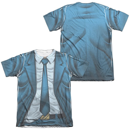 Quantum And Woody Woody Uniform  White 2-Sided Sublimation T-Shirt