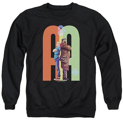 Archer & Armstrong Back To Bak Black Crew Neck Sweatshirt
