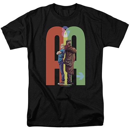 Archer & Armstrong Back To Bak Black T-Shirt