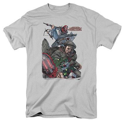 Archer & Armstrong Bottle Smash Gray T-Shirt