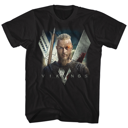 Vikings Flame Tshirt