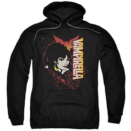 Vampirella Devilish Grin Black Pullover Hoodie