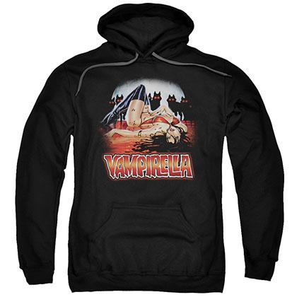 Vampirella Bloodbath Black Pullover Hoodie