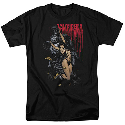 Vampirella Blood And Stones Black T-Shirt