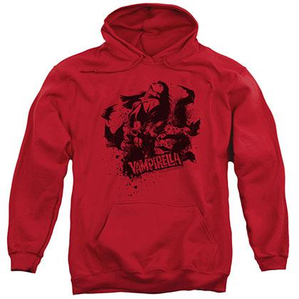 Vampirella Vampire Splat Red Pullover Hoodie