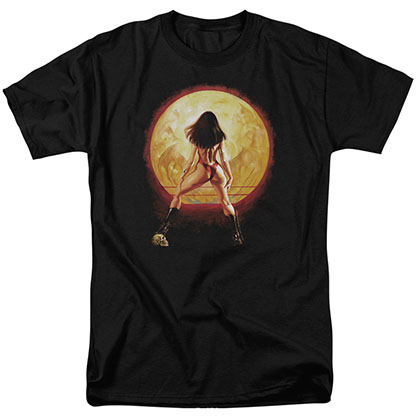 Vampirella Full Moon Black T-Shirt