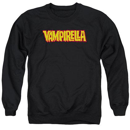 Vampirella Logo Black Crew Neck Sweatshirt