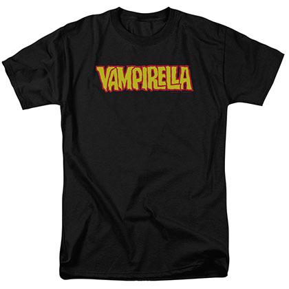 Vampirella Logo Black T-Shirt