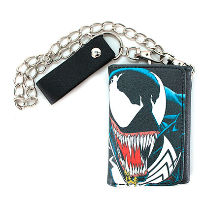 Venom Spider-Man Chain Wallet