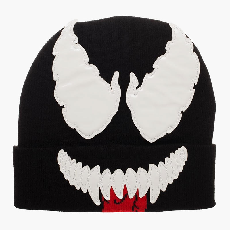 Venom Face Winter Hat